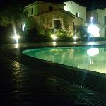 villaggio di notte