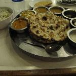 vegetable thali