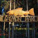 Alaska Salmon Bake sign