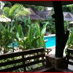 From the pool-view rooms