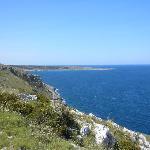 La baia dell'Orte a Otranto