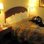 Days Inn South - just a snapshot of bed
