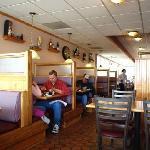 Cappy's interior.