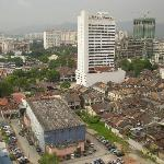 Aerial view from Traders Hotel Lounge