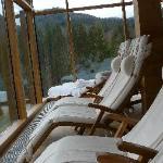 Ruheraum des Saunabereichs