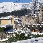 Vista parcial del Hotel en su parte medieval