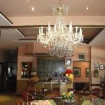 Hotel Lobby,reception and Friends Bar