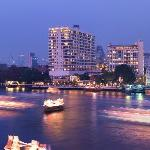 View of Mandarin Oriental, Bangkok across the Chao Phraya River