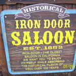 Iron Dorrs sign