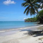 Beautiful clean white sandy beach!
