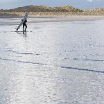 Enniscrone Beach - Popular with Surfers