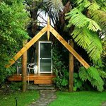 Accommodation Whare at Mount Tutu Eco-Sanctuary