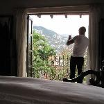 hey someone took a picture of me taking a picture of our other view from the amazing room