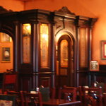 Inside the pub - is that a confessional?