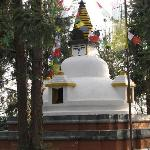 Shrine at entrance