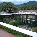 Vista desde la azotea de una de las zonas del hotel