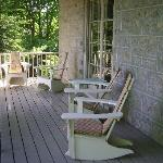 Front porch area