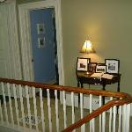 Upstairs by rooms