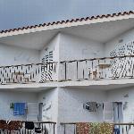 Les terrasses des chambres
