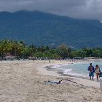 Very empty beach