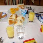 un poco de desayuno