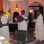 Music during dinner