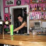 Linda, Barwoman in Barbara Club!