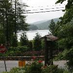 View of Lake Rabun from front balcony