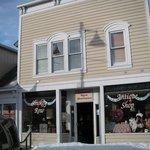 The Smokey Row Antique Storefront