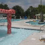 Pirateland Pool area