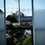 view from our room, mt. fuji