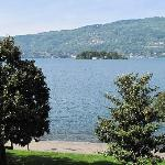 View of Lago Maggiore from hotel room
