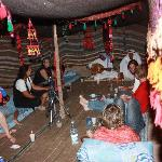 """At the Bedouin tent """"Beit Sha'ar"""""""