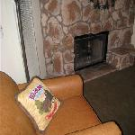 The fireplace... each unit has two