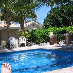 Poolside at Coco-Cabañas