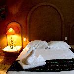 Bedroom at Posada Tulipanes