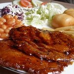 Black Pepper Mock Chicken Chop @ S$7+