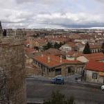 Hotel visto desde las murallas
