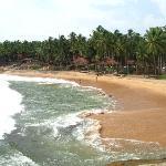 Blick auf Bucht und Resort