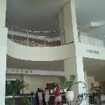 The Lavish reception area