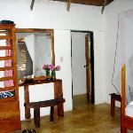 inside cabana Rosa Nautica