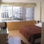 """""""Bedroom"""" area"""