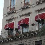 Il balcone sulla Piazza...