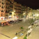 Placa de la Font view from balcony