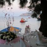 Caldera Cafe Bar Restaurant Agia Pelagia, Heraklion Prefecture, Crete, Greece