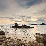 Sunset from Beach