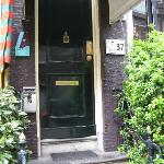 Entrance to The Golden Bear