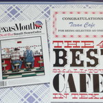 Honored by TEXAS MONTHLY as one of the 40 Best Small Town Cafes in Texas