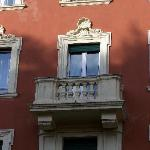 Our room/balcony