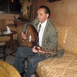 le musicien au Oud